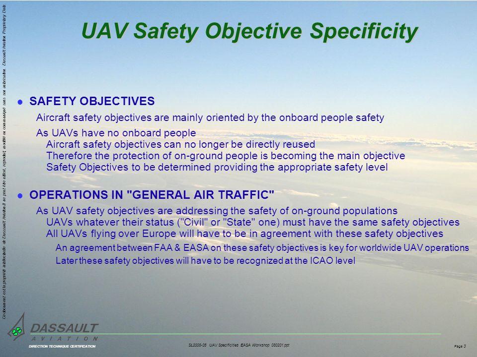 DIRECTION TECHNIQUE CERTIFICATION Ce document est la propriété intellectuelle de Dasssault Aviation.Il ne peut être utilisé, reproduit, modifié ou communiqué sans son autorisation.