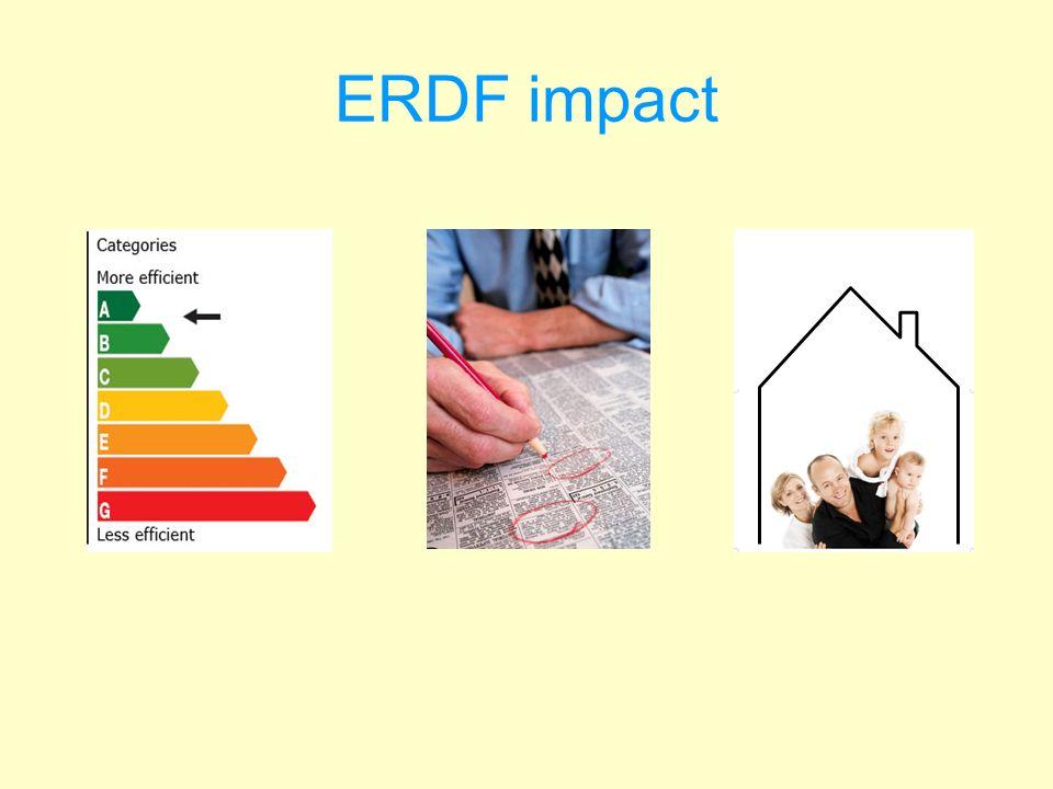 ERDF impact