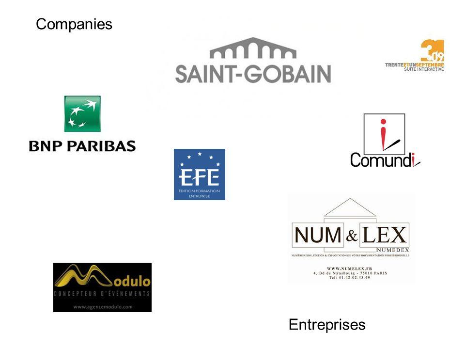 Entreprises Companies