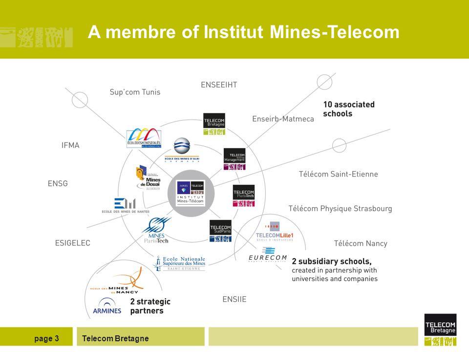 Telecom Bretagnepage 3 A membre of Institut Mines-Telecom