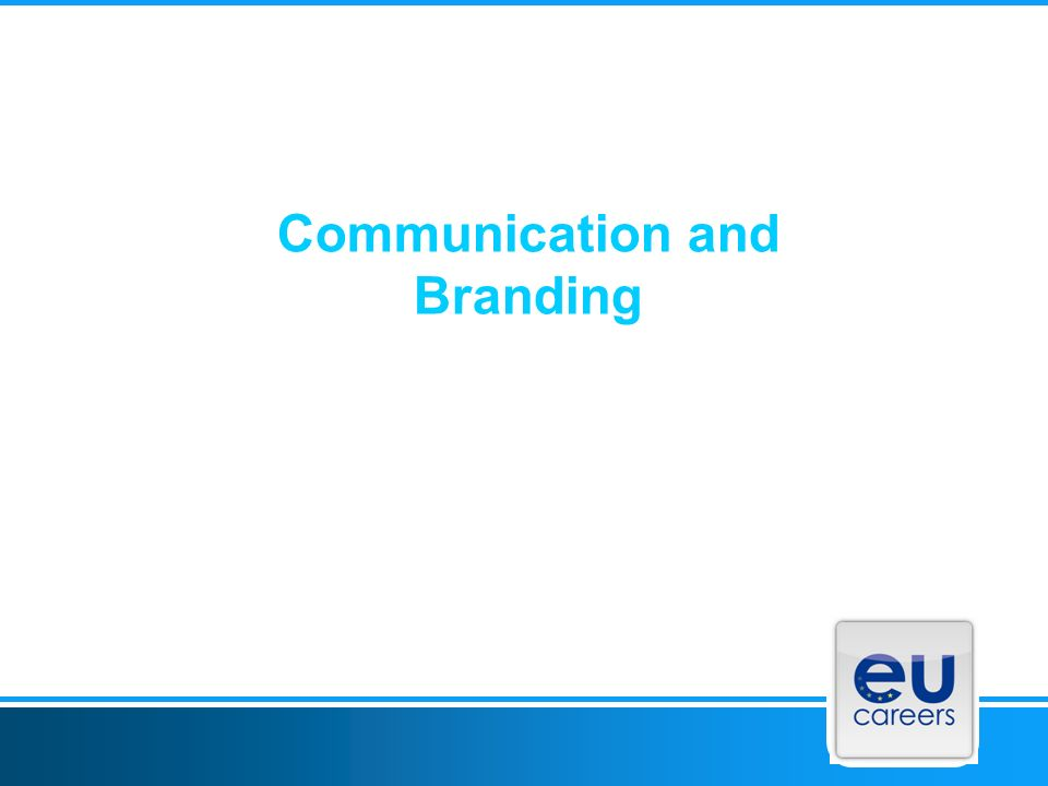 Communication and Branding