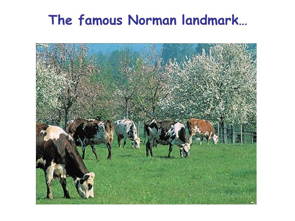 The famous Norman landmark…