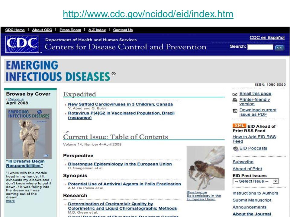 http://www.cdc.gov/ncidod/eid/index.htm