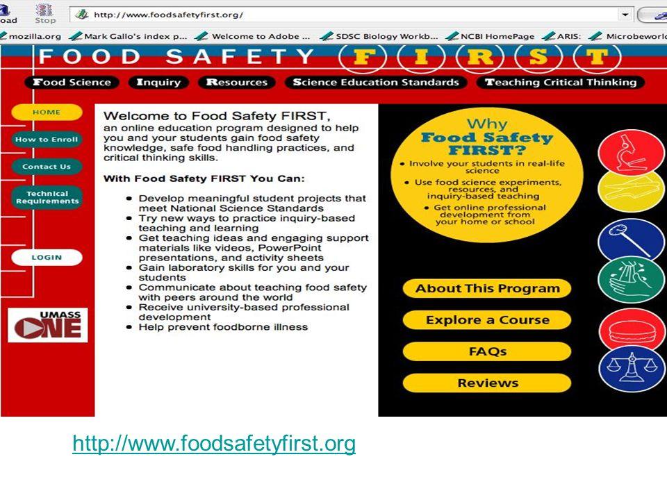 http://www.foodsafetyfirst.org