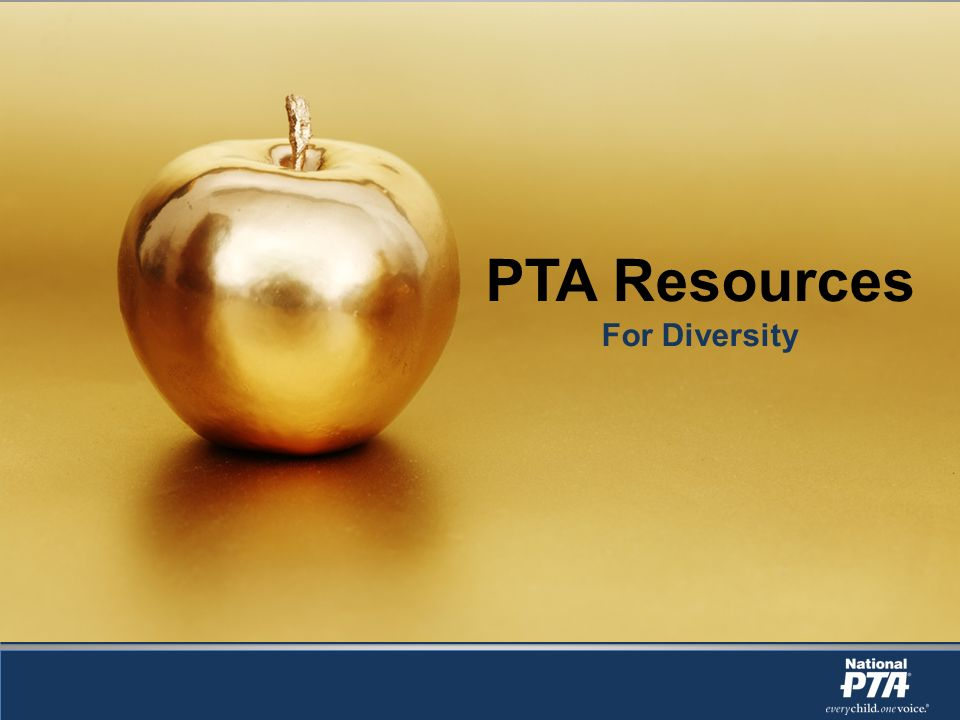 PTA Resources For Diversity