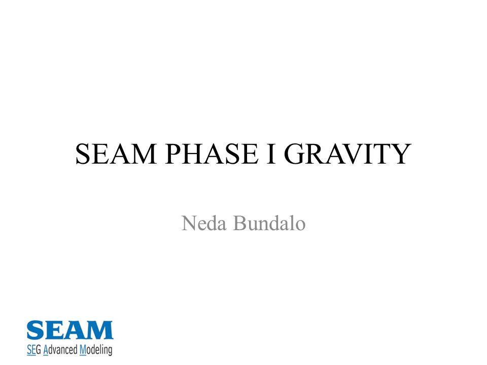 SEAM PHASE I GRAVITY Neda Bundalo