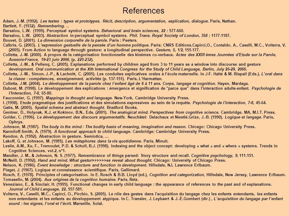 Adam, J.-M. (1992). Les textes : types et prototypes.