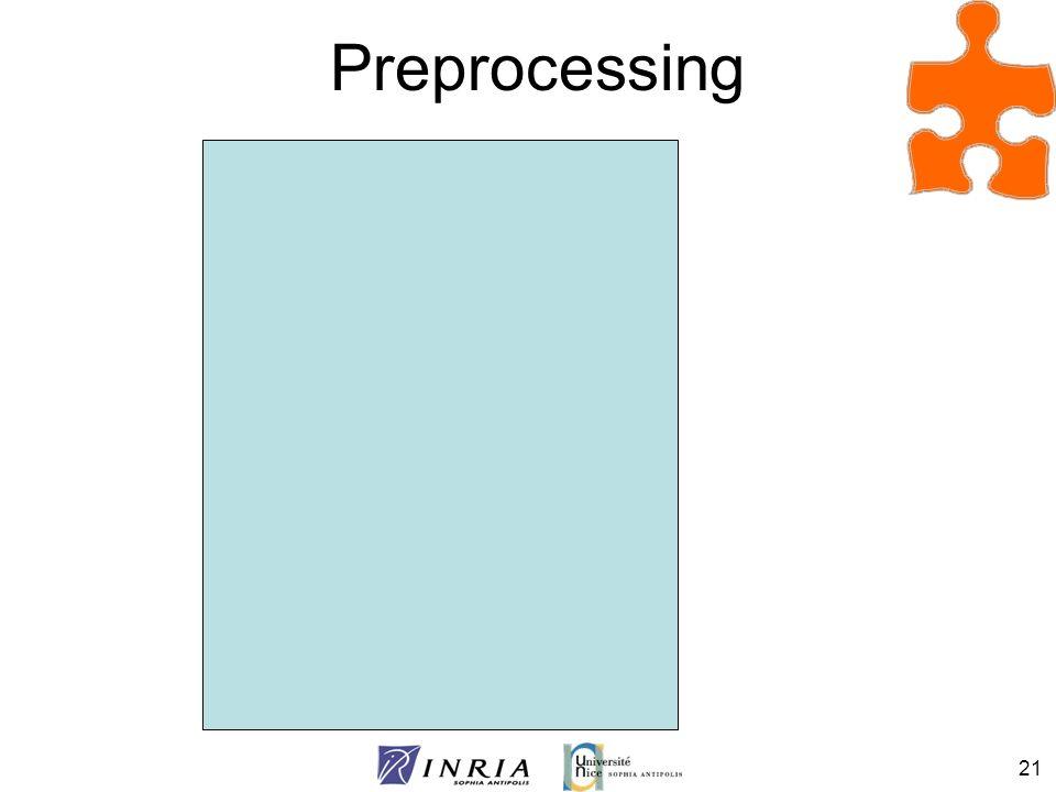 21 Preprocessing