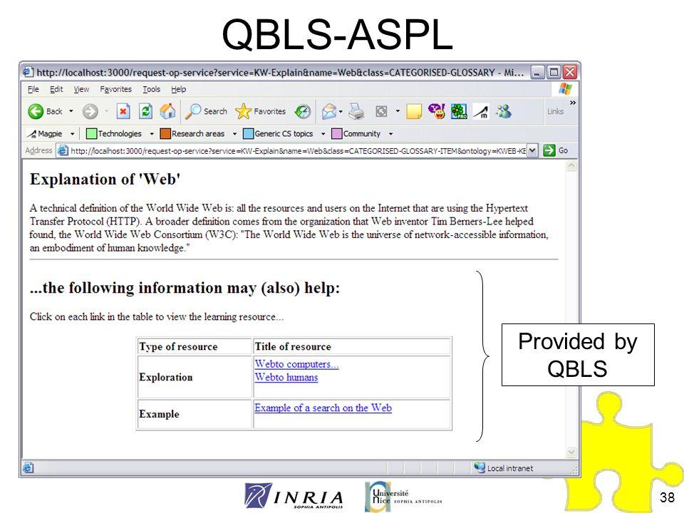 38 QBLS-ASPL Provided by QBLS