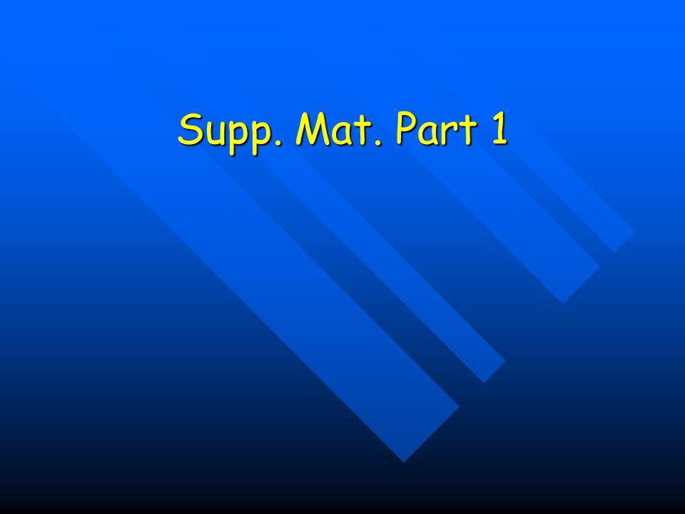 Supp. Mat. Part 1