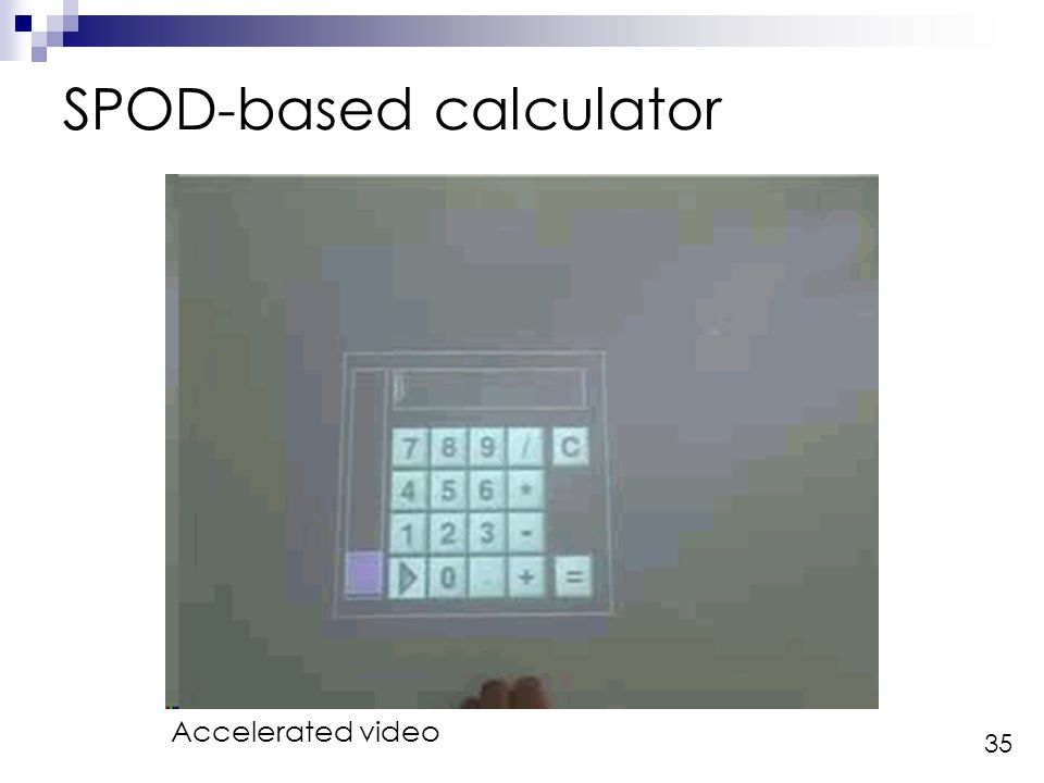 35 SPOD-based calculator Accelerated video