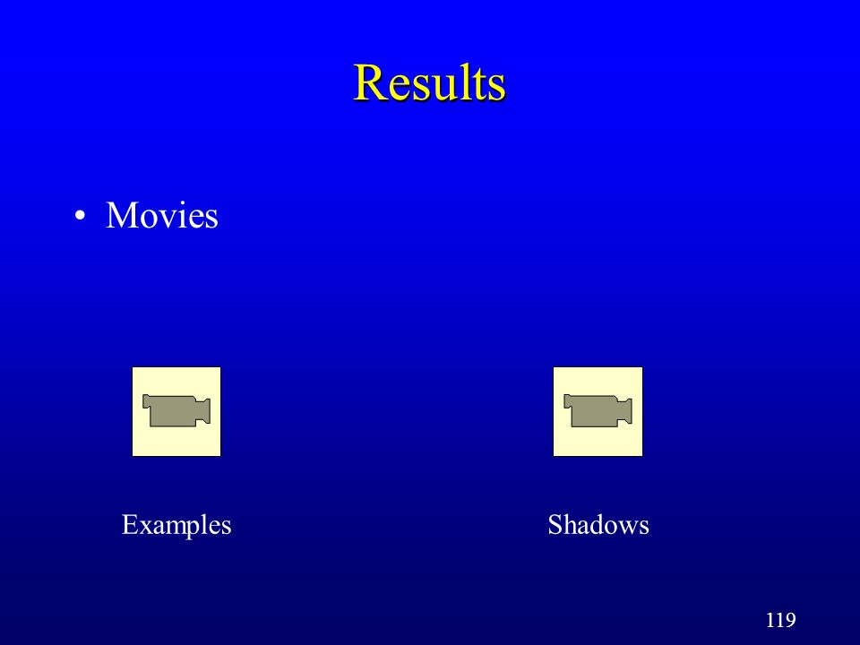 119 Results Movies ExamplesShadows