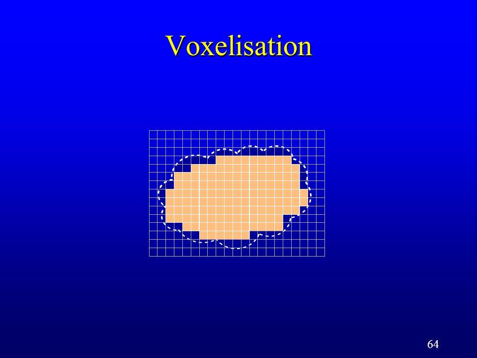 64 Voxelisation