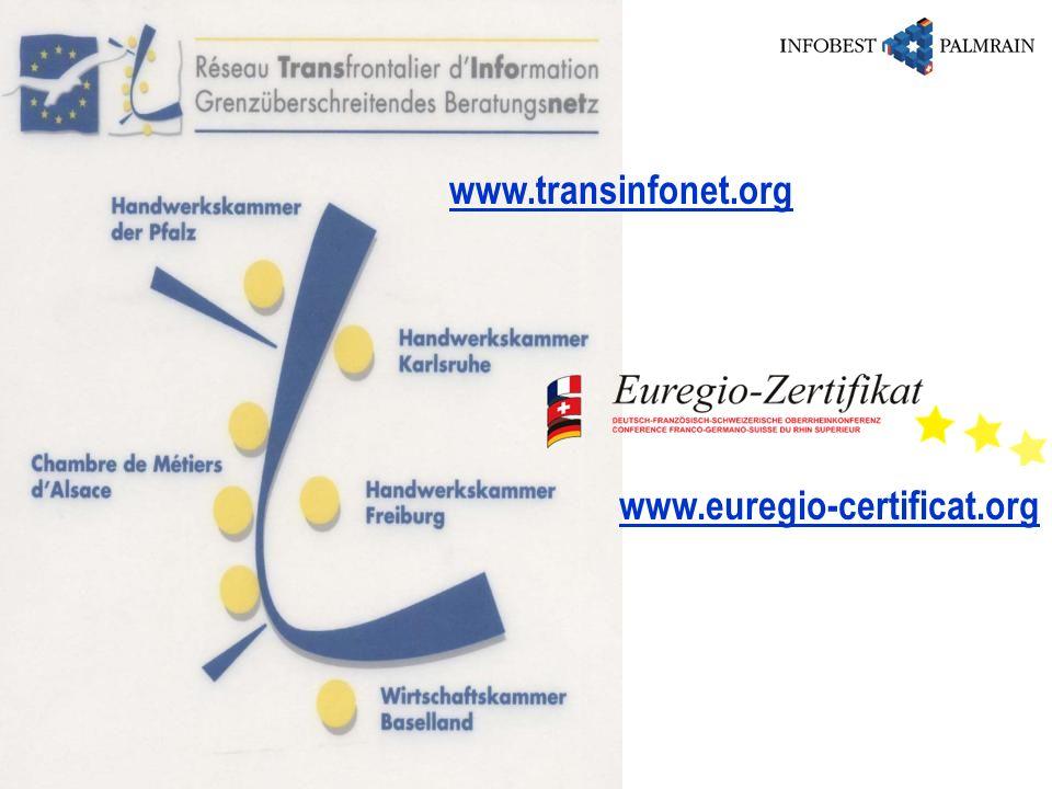 www.transinfonet.org www.euregio-certificat.org