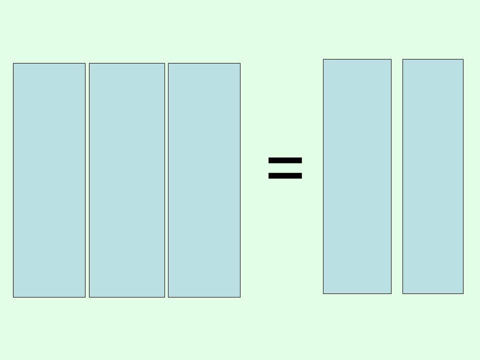 3 x 4 = 1 2