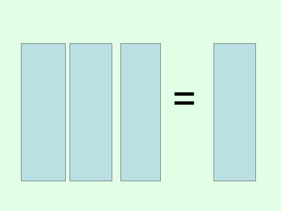 1 x 6 = 6