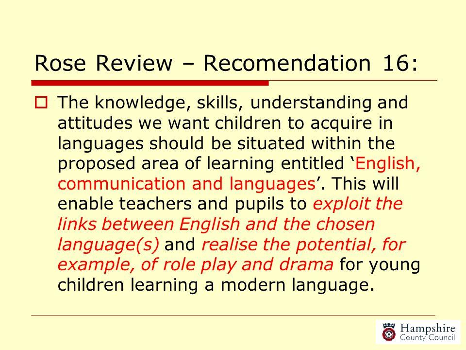 Cross-curricular links (including KAL & LLS) Jo Rhys-Jones, Jackie Berry & Liz Lord, Hampshire Languages Team