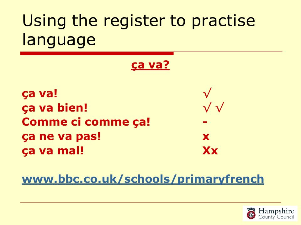 Why? Opportunities to reinforce other areas of curriculum Embedding Languages gives the subject recognition throughout the school The KS2 Framework ha