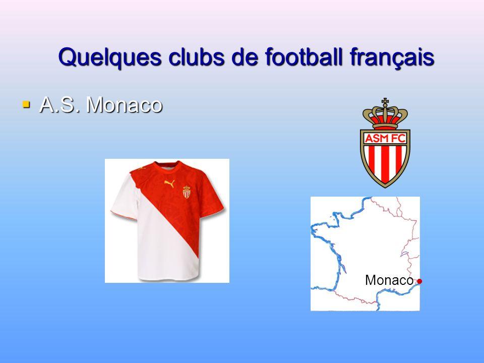 Quelques clubs de football français FC Nantes FC Nantes Nantes