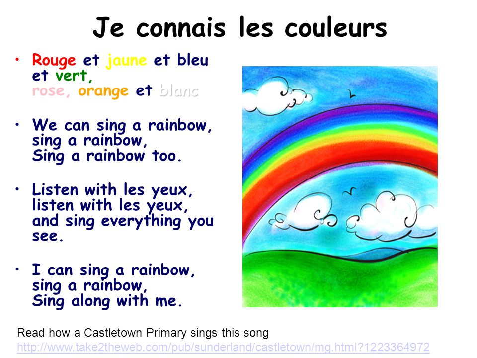 Can you sing this to the tune of Frère Jacques.