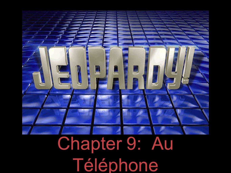 Chapter 9: Au Téléphone