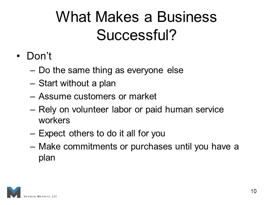 10 What Makes a Business Successful.