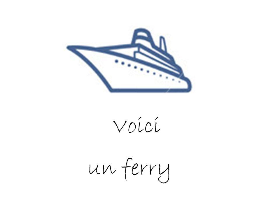 Voici un ferry