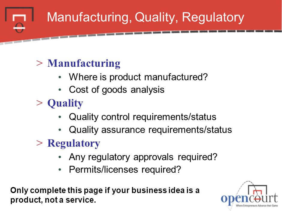 Manufacturing, Quality, Regulatory >Manufacturing Where is product manufactured.