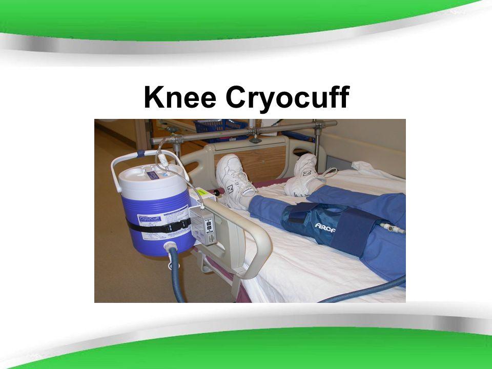 Powerpoint Templates Knee Cryocuff