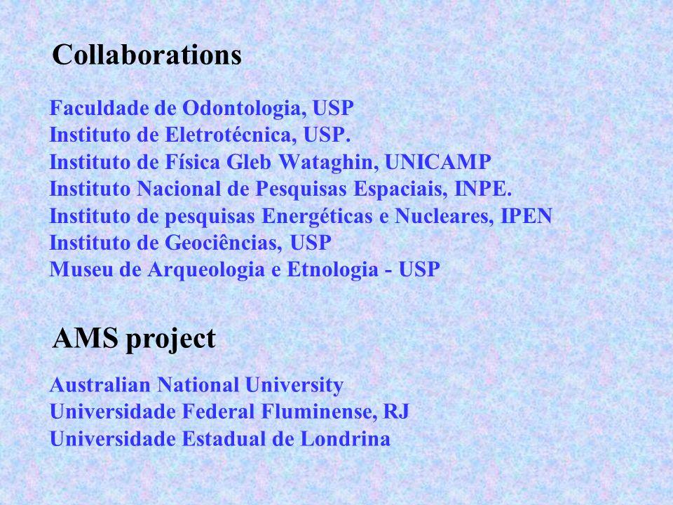 Collaborations Faculdade de Odontologia, USP Instituto de Eletrotécnica, USP. Instituto de Física Gleb Wataghin, UNICAMP Instituto Nacional de Pesquis