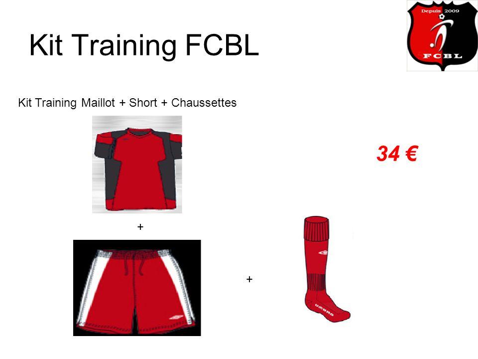 Kit Training FCBL Kit Training Maillot + Short + Chaussettes 34 + +