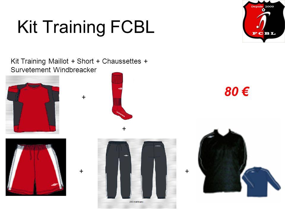 Kit Training FCBL Kit Training Maillot + Short + Chaussettes + Survetement Windbreacker 80 + + + +