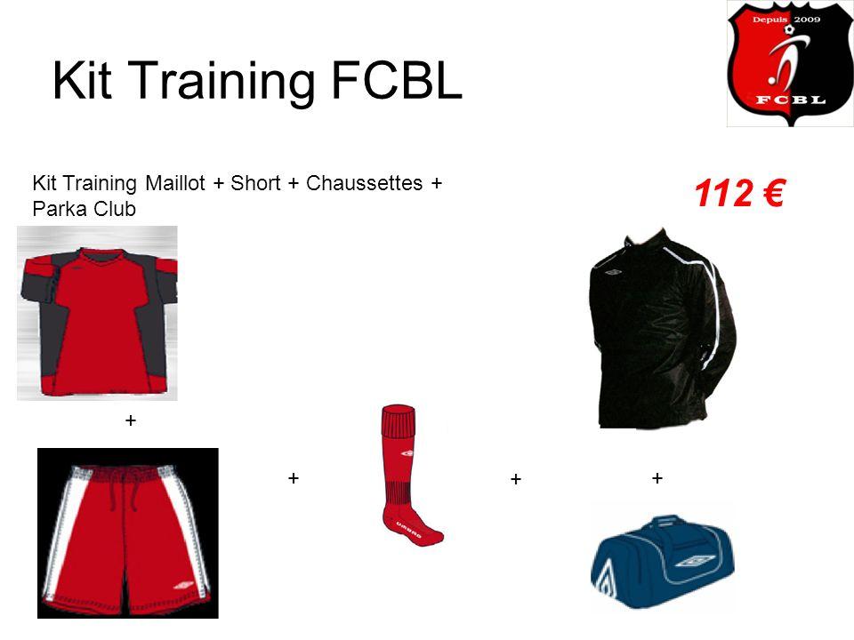 Kit Training FCBL Kit Training Maillot + Short + Chaussettes + Parka Club 112 + + ++