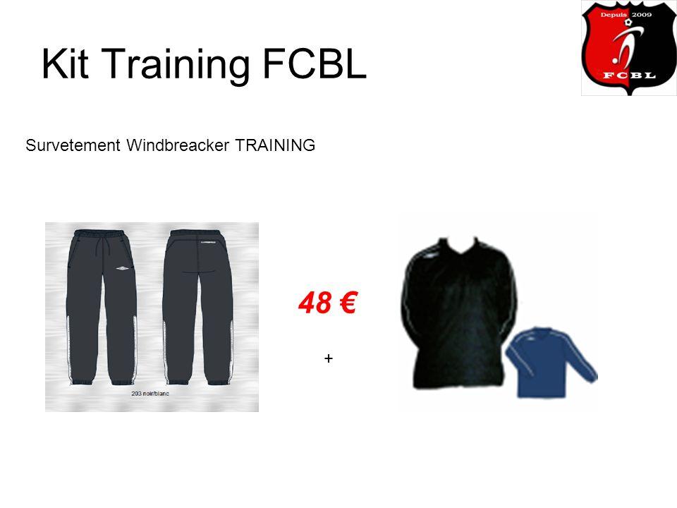 Kit Training FCBL Survetement Windbreacker TRAINING 48 +