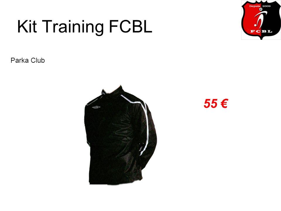 Kit Training FCBL Parka Club 55