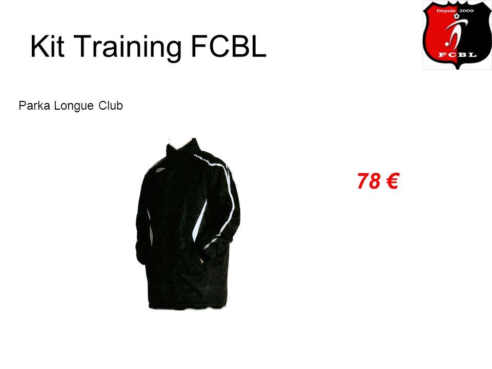Kit Training FCBL Parka Longue Club 78