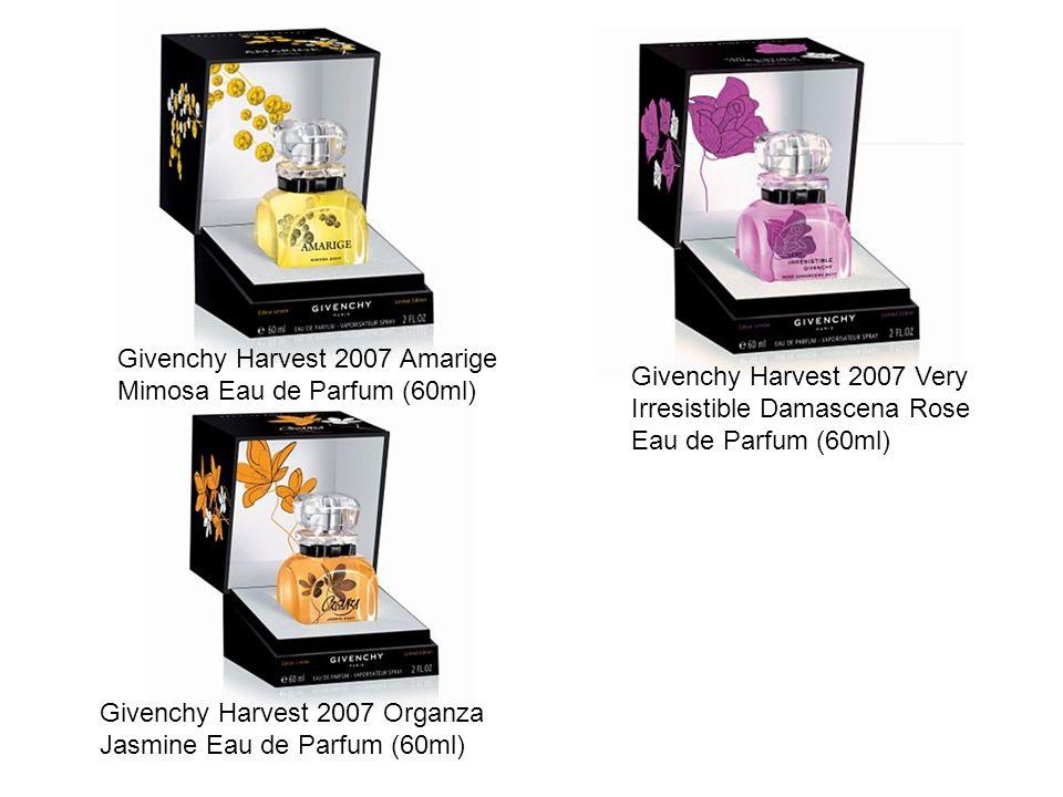 Givenchy Harvest 2007 Amarige Mimosa Eau de Parfum (60ml) Givenchy Harvest 2007 Very Irresistible Damascena Rose Eau de Parfum (60ml) Givenchy Harvest 2007 Organza Jasmine Eau de Parfum (60ml)