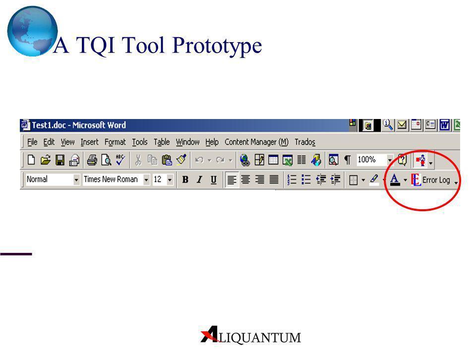 A TQI Tool Prototype