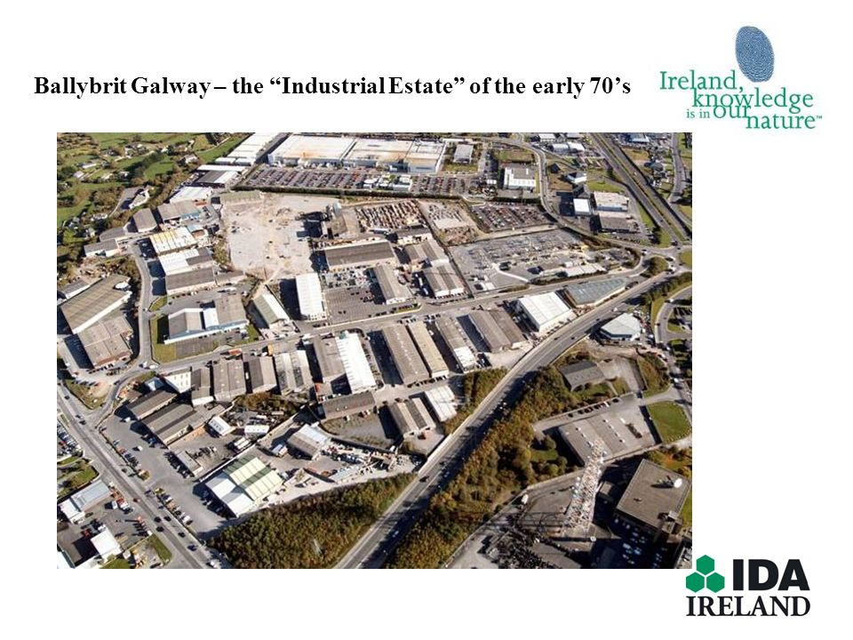 Ballybrit Galway – the Industrial Estate of the early 70s