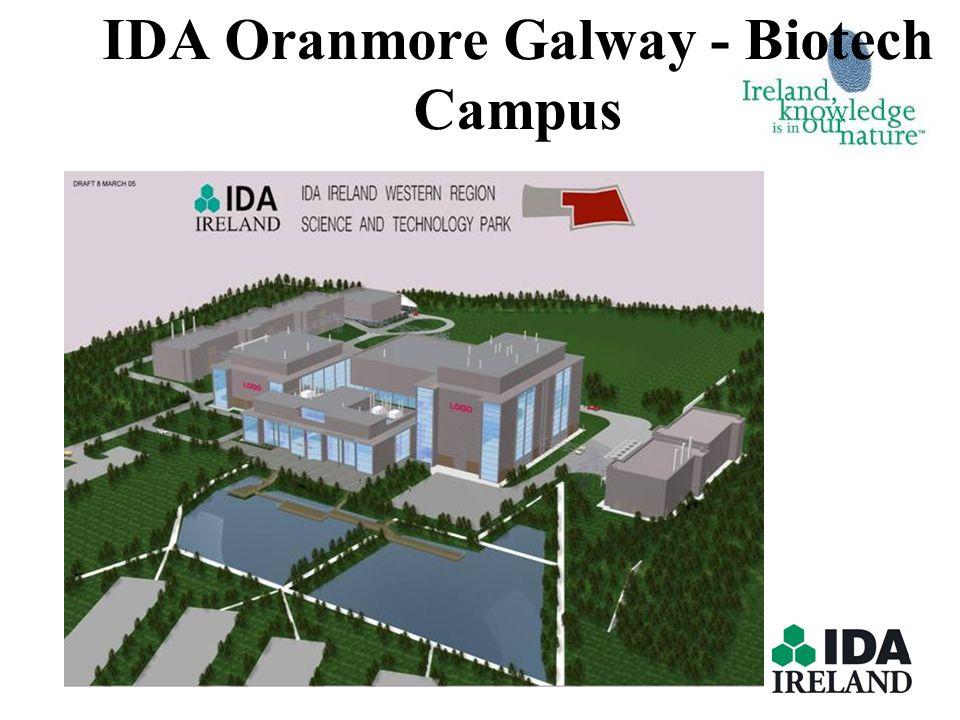 IDA Oranmore Galway - Biotech Campus
