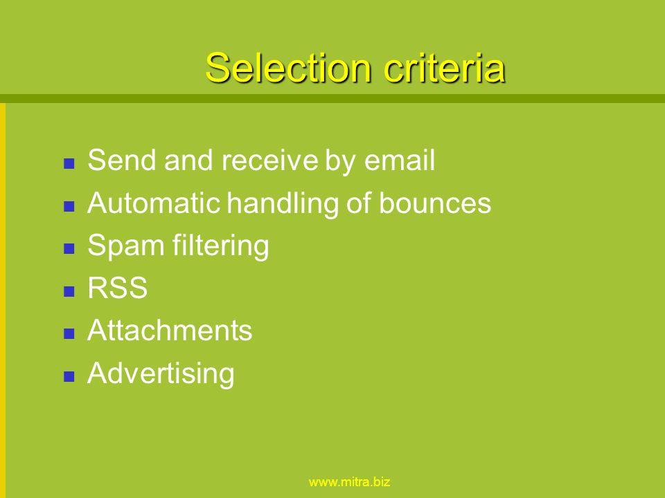 www.mitra.biz Alternatives PhpBB Mailman