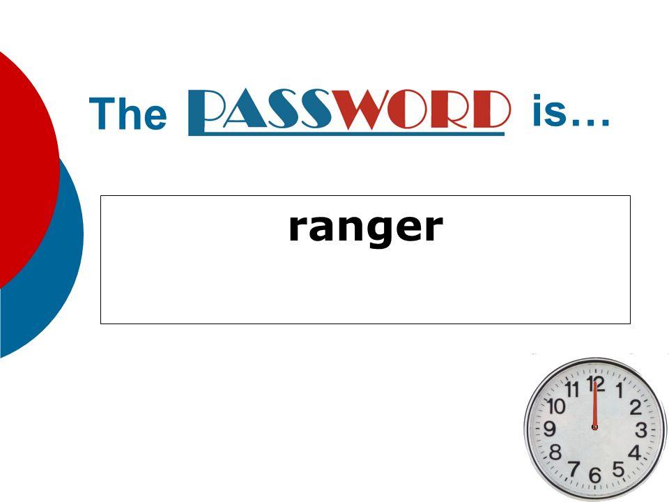 ranger The is…