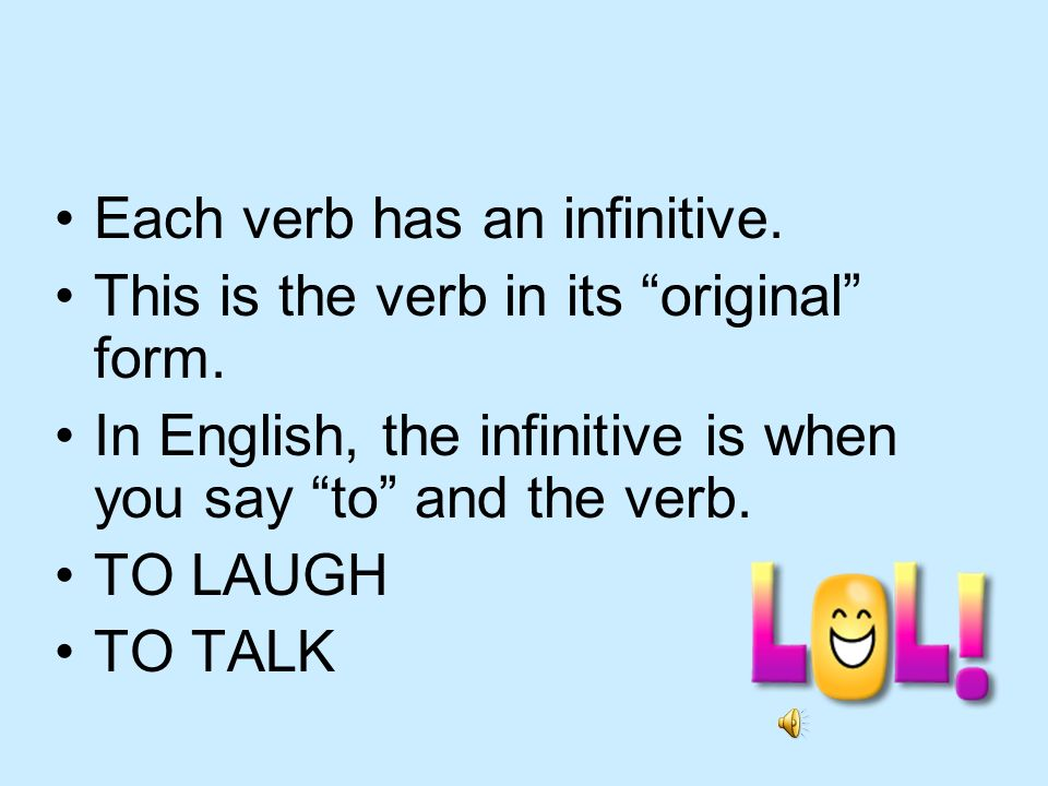 Regular -er verbs