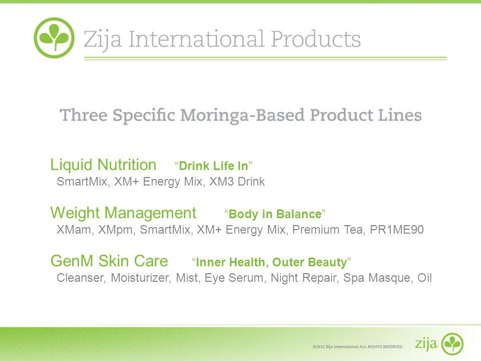Liquid NutritionDrink Life In SmartMix, XM+ Energy Mix, XM3 Drink Weight Management Body in Balance XMam, XMpm, SmartMix, XM+ Energy Mix, Premium Tea,