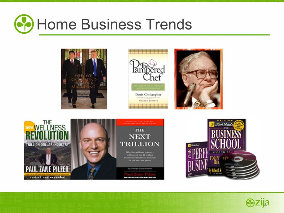 14 Home Business Trends