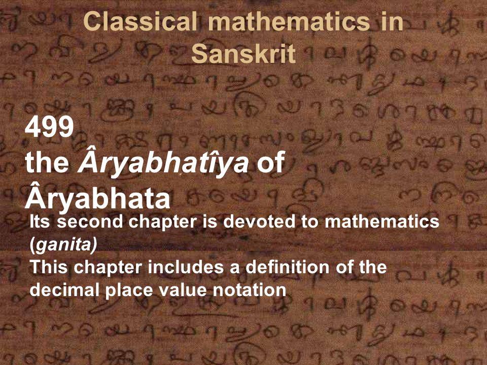 Rodets Opinion on Indian Mathematics L algèbre d Al-Khârizmi et les méthodes indienne et grecque p.