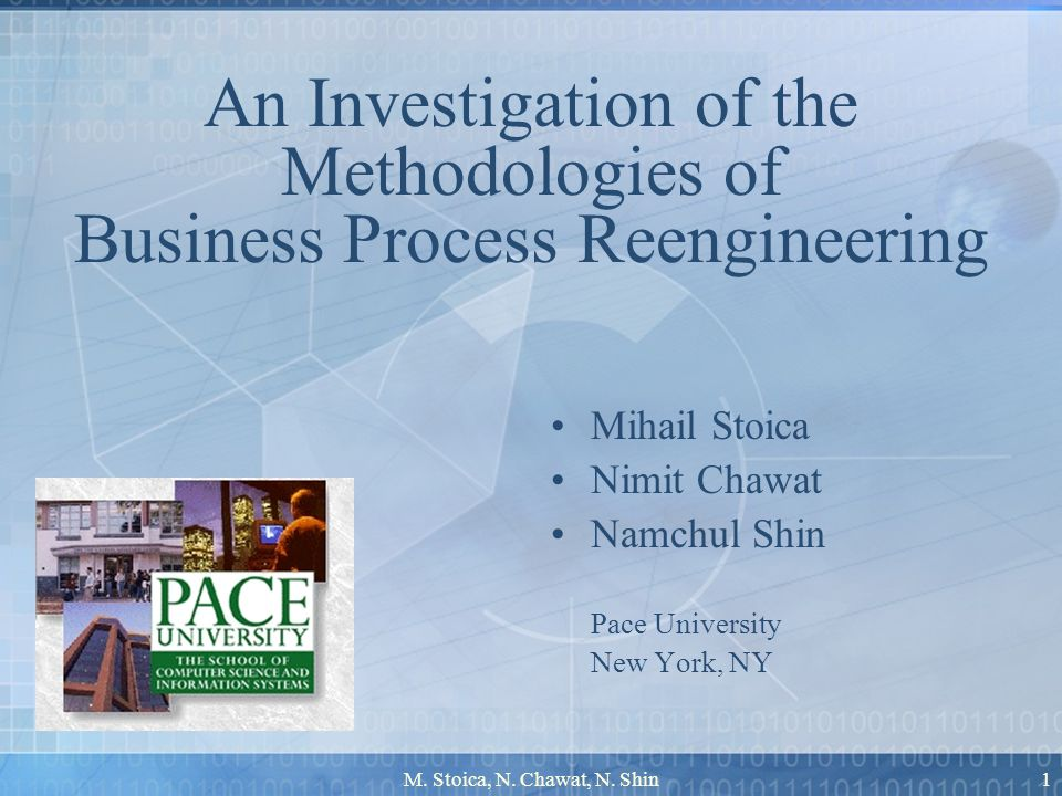 M.Stoica, N. Chawat, N. Shin2 Questions What is reengineering.