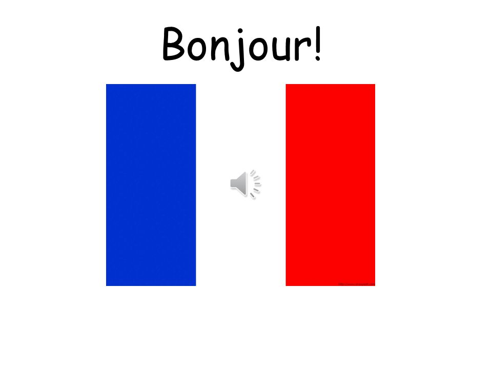 Vocabulary 1. Greetings Build into daily routines starting with Bonjour and Au revoir and then gradually adding in more vocabulary as learners progres