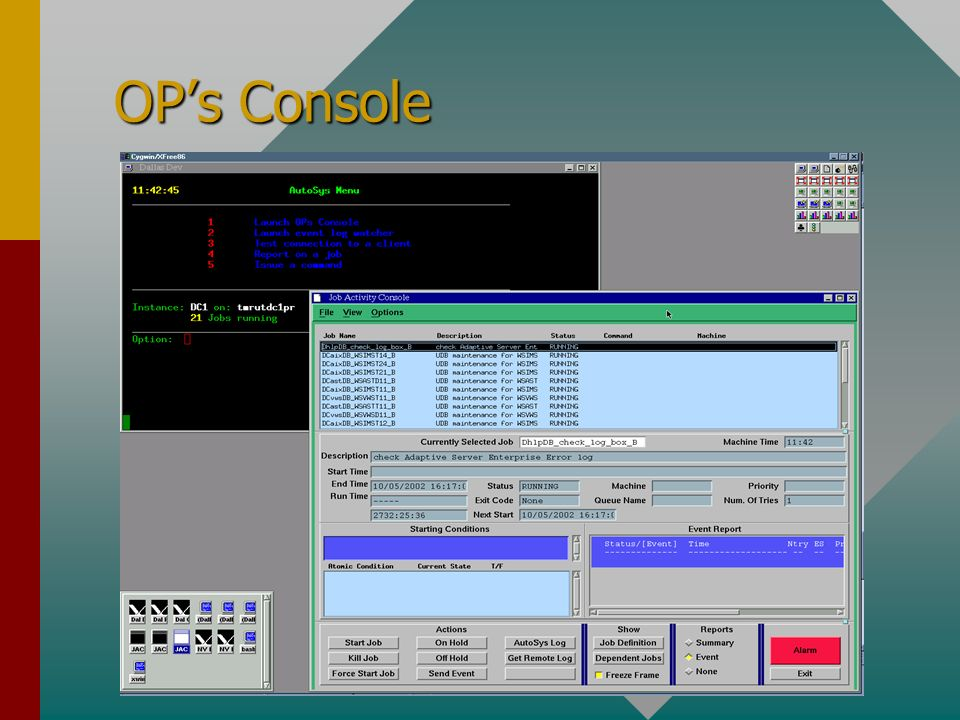 OPs Console