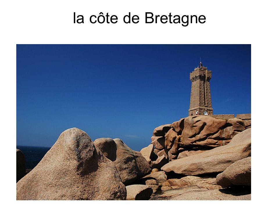 la côte de Bretagne